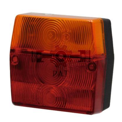 — 504230300037 — 3-kamerverlichting met kentekenverlichting, <br> aansluiting met tuit 12V5WS / C5W, <br> 12V21WK / R —