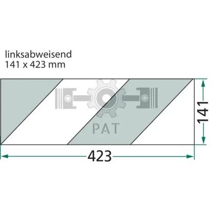 — 20743812 — verticaal opgebouwd: rechtswijzend, horizontaal opgebouwd: linkswijzend type 1 —