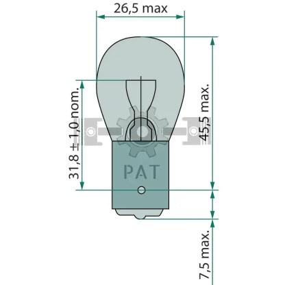 — 44712498CP — knipper-, rem-, mist- en achteruitrijlicht BA 15s —