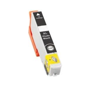 Inktcartridge / Alternatief voor Epson 33 XL T3361 foto zwart | Epson Expression Premium XP-530/ XP-630/ XP-635/ XP-640/ XP-645/ XP-830/ XP-900