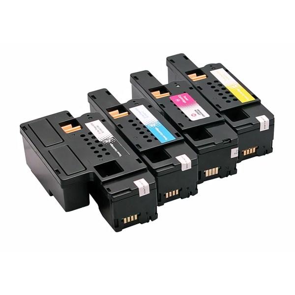 Tonercartridge / Alternatief voordeel pakket DELL E525 zwart, rood, geel, blauw | Dell E525/ E525w