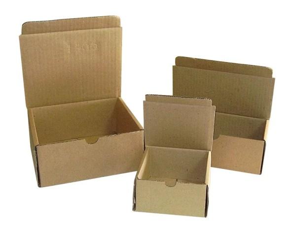 25 Ecologische kartonnen dozen bruin ideaal als Postdozen/ Verzenddozen/ postdoos 20x14x7,5cm