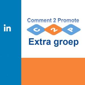 Extra groep bij Linkedin Comment-2-Promote abonnement