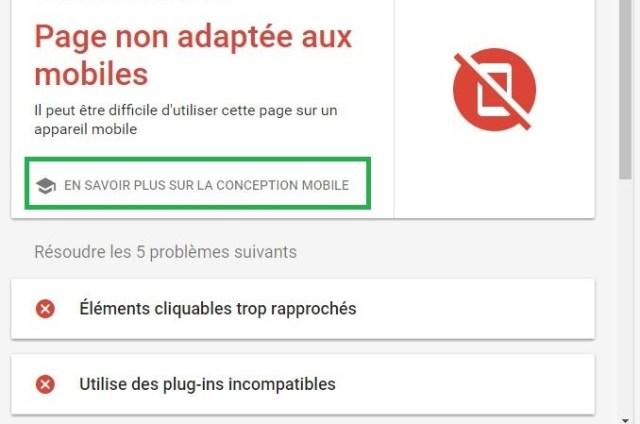 google-mobile-friendly-web-site-non-adapte-au-mobile