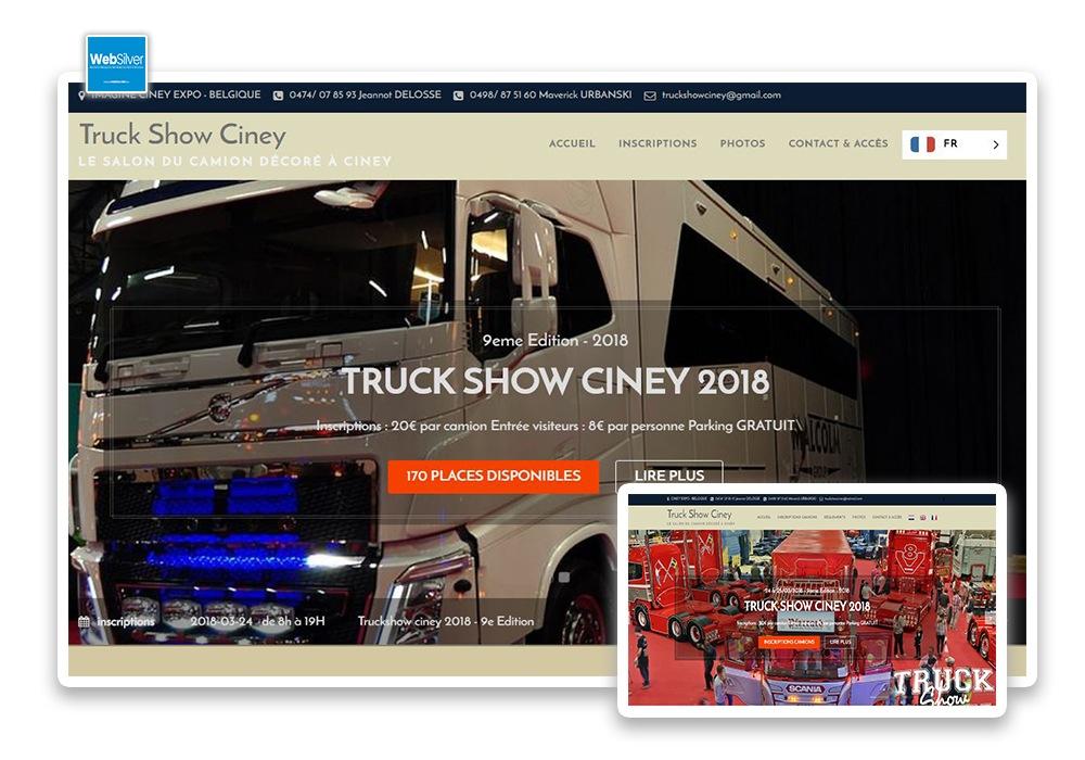 Réalisation Truck Show Ciney