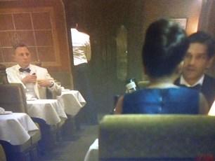 Bern Collaco Train Passenger James Bond Spectre