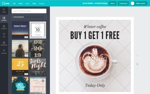 Canva Websitebegeleiding