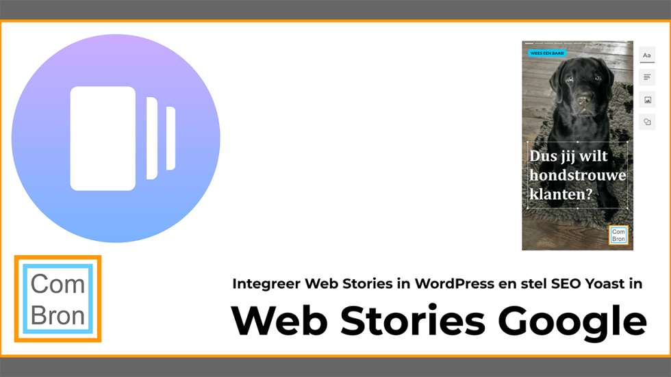Integreer Web Stories van Google in je website met de plugin voor WordPress en stel direct SEO Yoast in voor Web Stories.