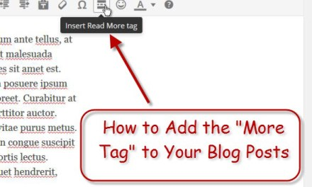 Adding a 'Read More' Link to Your Blog