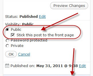What is a Sticky Post in WordPress?