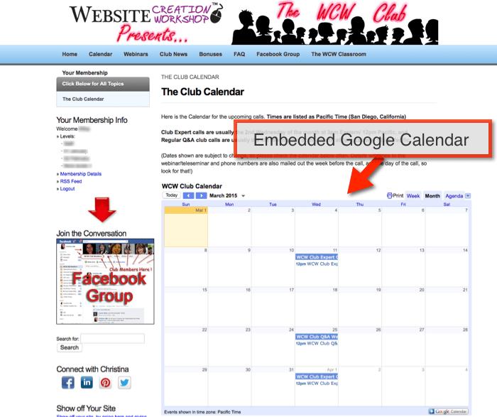 calendar creation