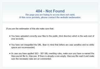 broken links page example
