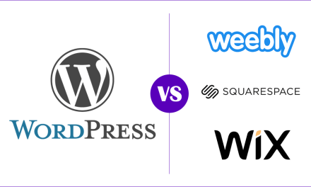 WordPress vs. Squarespace – Wix – Weebly