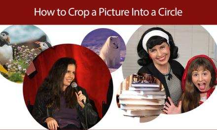 How to Crop a Picture into a Circle