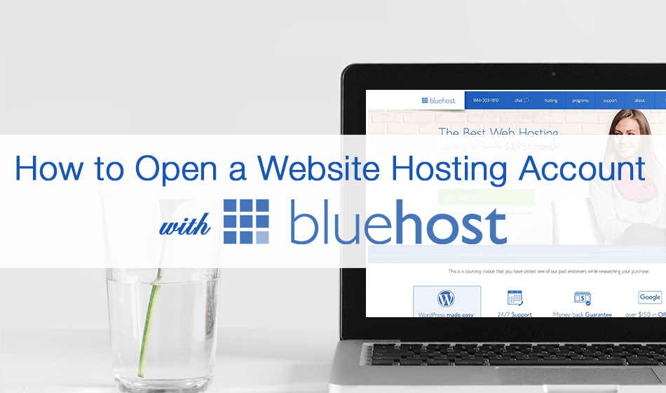 How to Open a Website Hosting Account with Blue Host