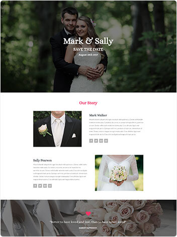 HAGER MEDIA wedding-img Websites