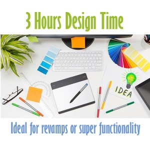 3 hour design time web design belfast