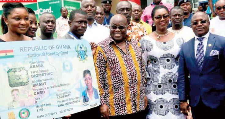 Ghana card
