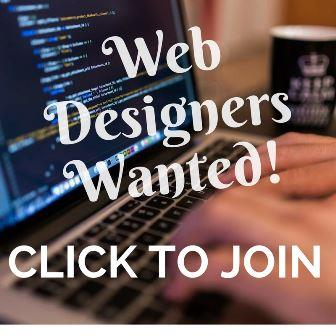 Web designer advert
