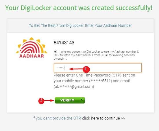digilocker account create kaise kare