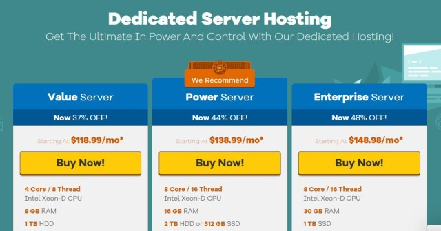 HostGator Dedicated Server Hosting