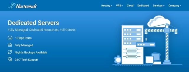 Hostwinds Dedicated Servers