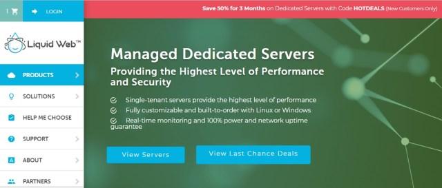 Liquid Web Dedicated Servers