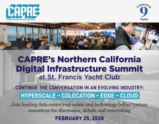 CAPRE's Digital Infrastructure Round Up for January 16, 2020 2