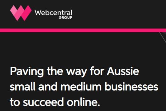 Webcentral screenshot