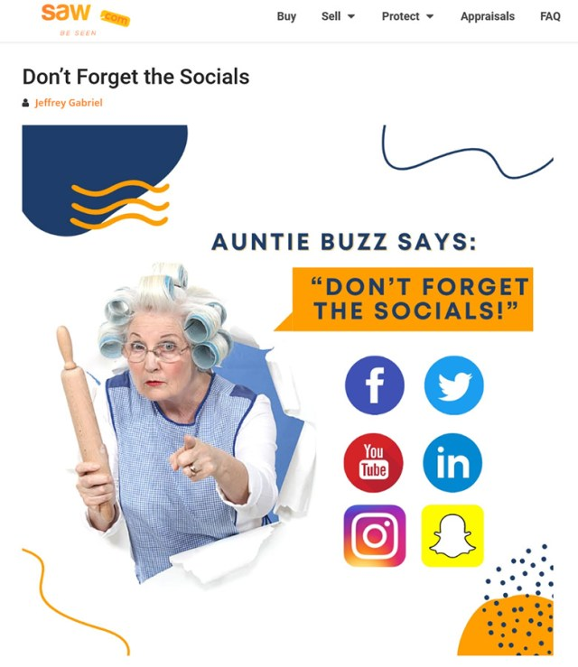 Auntie Buzz SAW it coming! :DomainGang