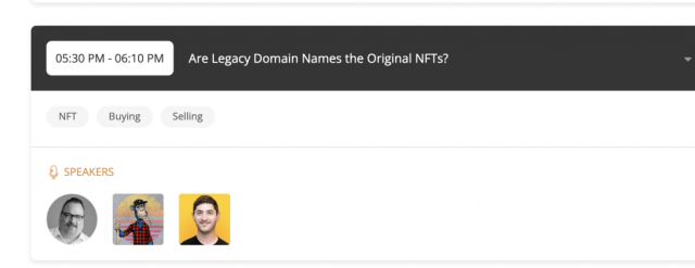 Shane's Daily List of Domains at Auction for Friday, September 24th, 2021