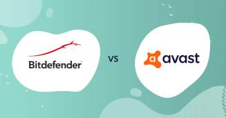 bitdefender logo vs avast logo antivirus comparison header for how to choose article