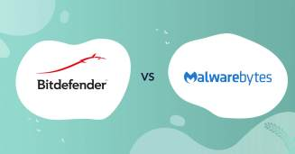 bitdefender logo vs malwarebytes logo antivirus comparison header for how to choose article