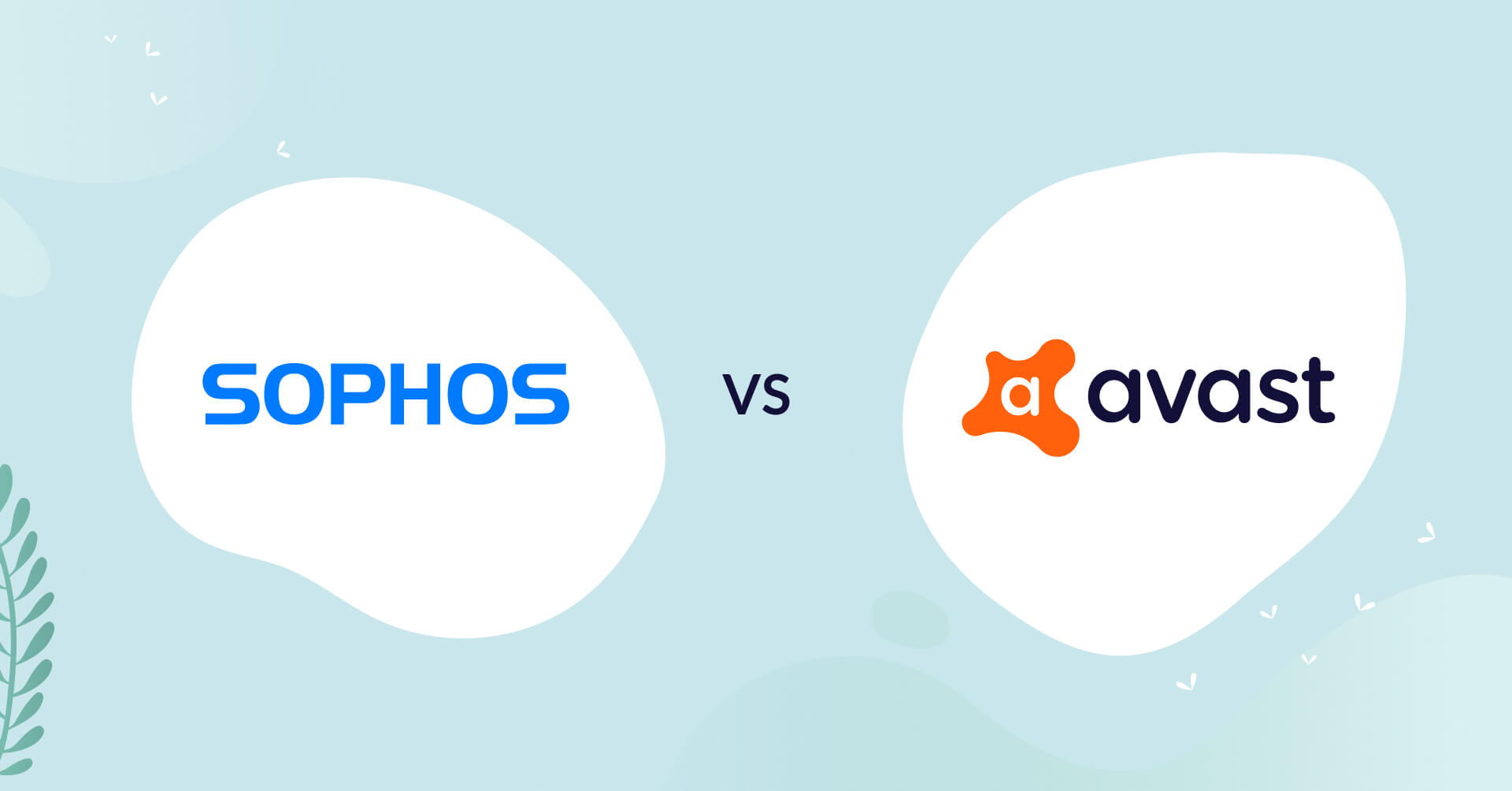 sophos logo vs avast logo antivirus comparison header for how to choose article