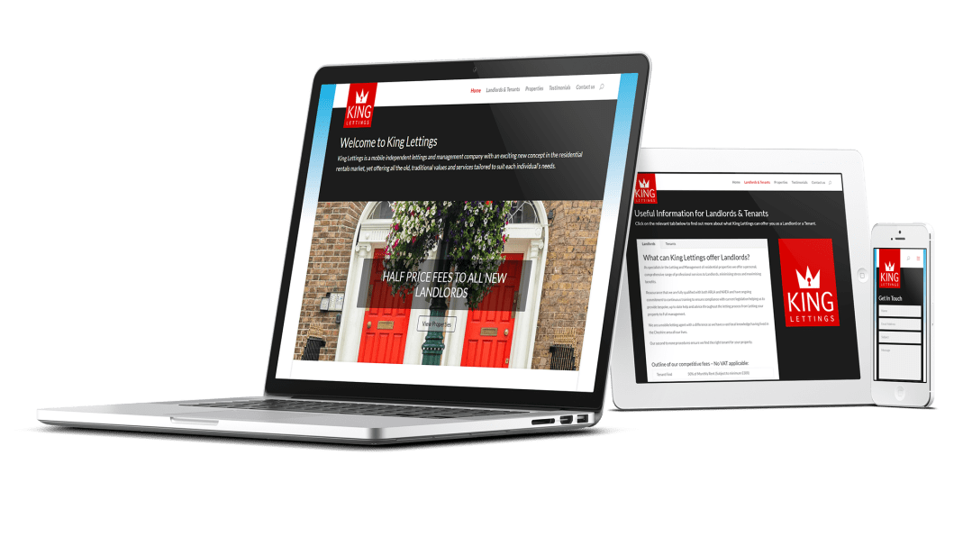Beautiful Letting Agent Website