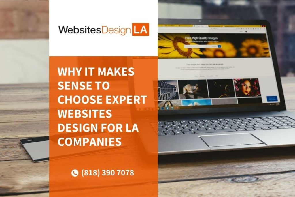 websites design in la