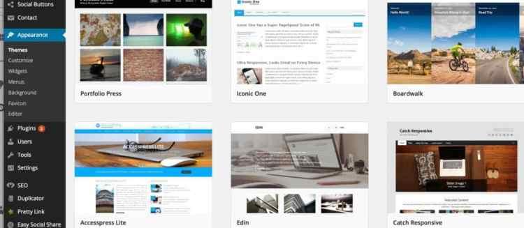 Thèmes WordPress Blog gratuits