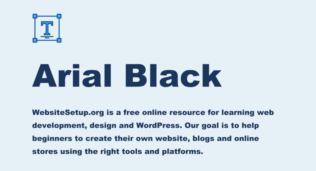 15 Best Web Safe Html Css Fonts Websitesetup Org