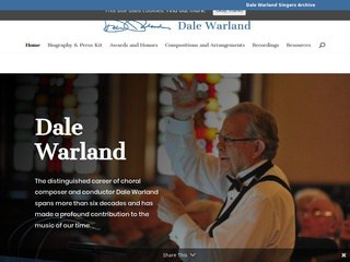 Dale Warland, composer-conductor