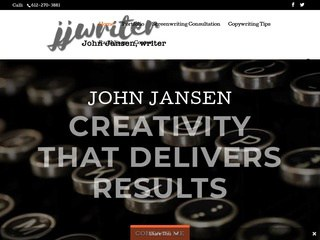 John Jansen, copywriter