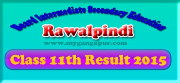 BISE Rawalpindi Board FA- FSc 11th Class Result 2015