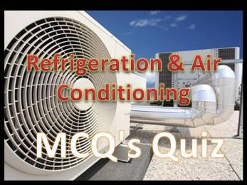 Online Refrigeration & Air Conditioning MCQ's Quiz