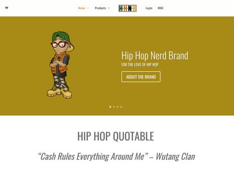 Hip Hop Nerd Brand