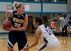 Megan Willett, Webster University women's basketball