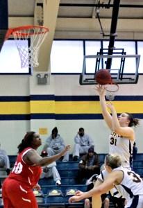 Tori Fenemor, Webster University women's basketball
