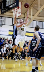 Drew Moore, Webster University men's basketball