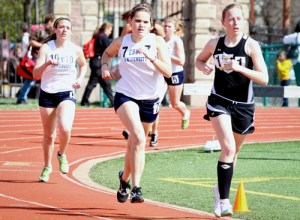 Webster University track and field team