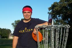 Tyler Jensen, Webster University disc golfer
