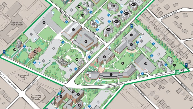 Webster University Interactive Campus Map Webster Journal