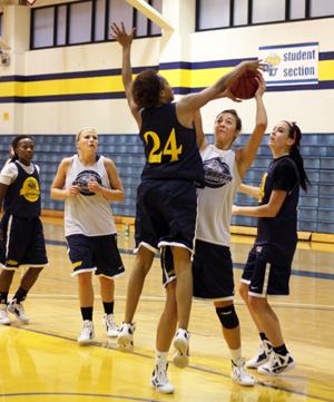 Webster University women's basketball